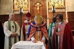 Podpisanie Ugody z Porvoo przez Luterański Kościół Wielkiej Brytanii