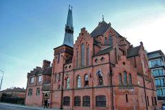kościół nordycki im. Gustawa Adolfa w Liberpoolu (Anglia)