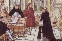 Luter przesłuchiwany przez kard. Kajetana