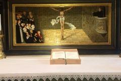 predella w Ołtarzu Reformacyjnym w w kościele NMP w Witenberdze