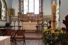 Prezbiterium anglikańskiej Parafii Wszystkich Świętych w Leavesden