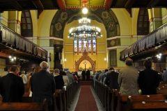 nabożeństwo w kościele ewangelicko-augsburskim w Bydgoszczy