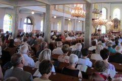 nabożeństwo w kościele ewangelicko-augsburskim w Jaworzu