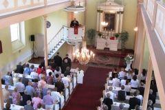 nabożeństwo w kościele ewangelicko-augsburskim w Lipnie