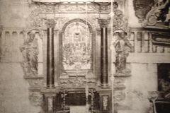 ołtarz w Kościele Żłóbka Chrystusa przed 1945 r.