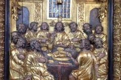 Scena Wieczerzy Pańskiej z ołtarza Kościoła Żłóbka Chrystusa we Wschowie