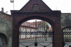 brama cmentarna Staromiejskiego Cmentarza Ewangelickiego we Wschowie