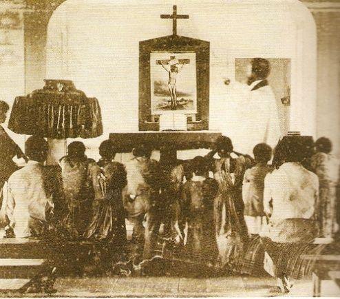 nabożeństwo afroamerykańskich niewolników